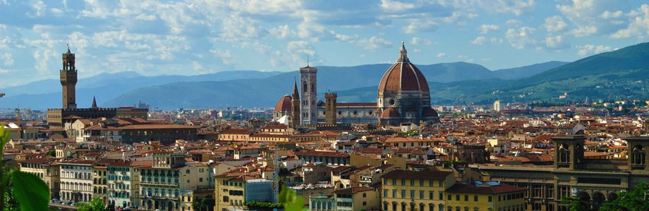 Florence, Dome of Santa Maria del Fiore and Giotto's Bell Tower